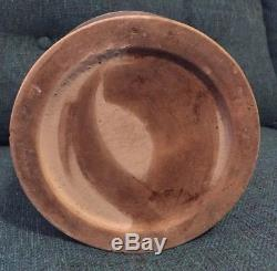 Antique Stoneware Stone Crock Gallon Jug Syrup Detroit Michigan Quebec 1900 Rare