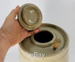Antique Stoneware Water Crock Cooler