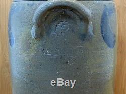 Antique Vintage 3 Gallon Stoneware Butter Churn Stamped