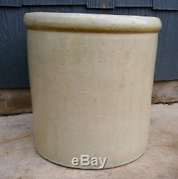 Antique Vintage 5 Gallon Red Wing Union Stoneware Crock, No Chips or Cracks