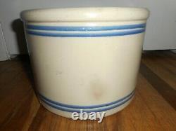 Antique Vintage RED WING 5 LB Stoneware Crock Pantry Jar