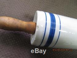 Antique/Vintage Stoneware Crock Rolling Pin
