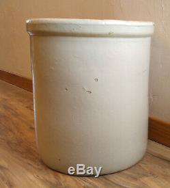 Antique Vintage Western Stoneware 10 Gallon Crock