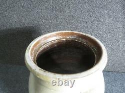 Antique stone ware Crock butter churn