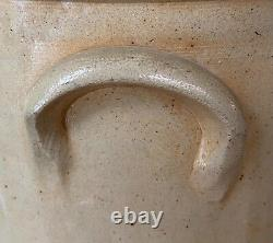 Antique stoneware Lamson & Swazey Portland Maine Floral Spray crock