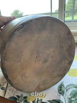 Antique stoneware crock blue