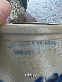 COWDEN & WILCOX Harrisburg Stoneware crock