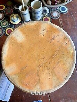 Cobalt Camp Fire Decorated Stoneware Crock