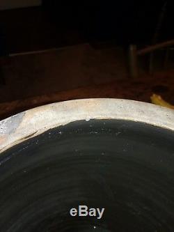Cowden And Wilcox 1 1/2 Gallon Harrisburg PA Decorated Stoneware Crock
