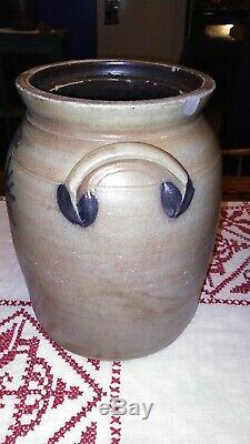 Cowden And Wilcox Rare Decorated Stoneware