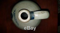 Cowden & Wilcox One Gallon Stoneware Jug