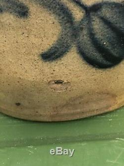 Cowden & Wilcox Stoneware Jar With Cobalt