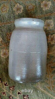 Decorated Stoneware Crock-New Geneva Pa