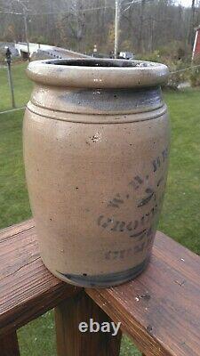 Decorated Stoneware Western PA Made Cumberland MD