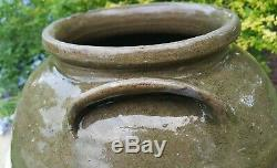 Edgefield Pottery Dave The Slave David Drake Southern Stoneware Crock Rare