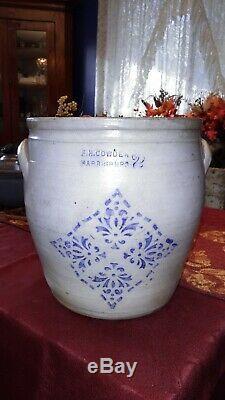 F. H. Cowden Harrisburg PA Decorated Stoneware