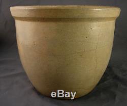 Fine Small Fulper New Jersey Bird Stoneware Crock c. 19th cent