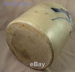 Finest Quality Fulper Bird Stoneware Jug- Near Mint-19th cent