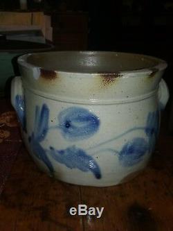 Henry Glazier Huntingdon Pa Decorated Stoneware