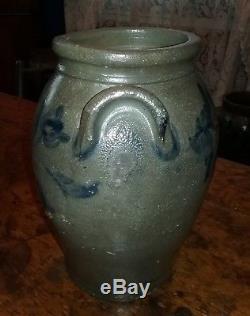 Huntingdon County PA decorated stoneware 1 gallon