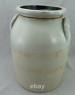 J&E Norton Bennington 3 Gal Stoneware Crock