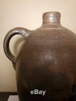 Jas. Hamilton & Co Greensboro, PA Cobalt Decorated Stoneware Jug- One Gallon