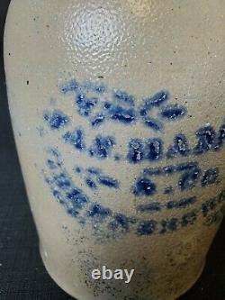 Jas. Hamilton & Co Greensboro, PA Stoneware Jar/Crock Decorated