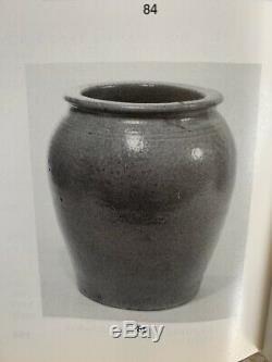 Lanier County Georgia Pottery Mint 1 1/2 Gallon Storage Jar Southern Stoneware