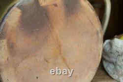 Large Antique 8 Gallon Meyer Texas Stoneware Crock