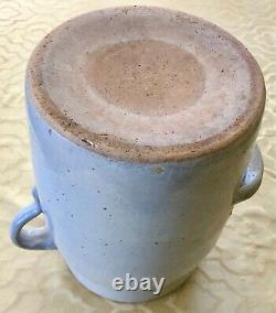 Louisville Pottery Co Indian Head #3 Stoneware Crock Butter Churn