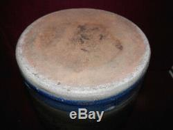Lysle Bailey & Co. General Md'se Camden Pa. 1 Gallon Merchant Crock Exc! Bin