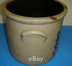 Nice New York Stoneware Co. Fort Edward 2 Gallon Crock