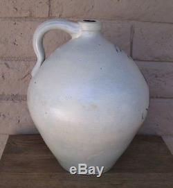 Norton & Fenton Bennington, Vt Stoneware Ovoid 2 Gallon Crock, Jug Circa 1845