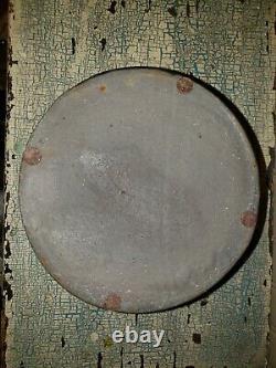 Pa Striper Butter Crock Primitive A Small Size Salt Glaze Stoneware