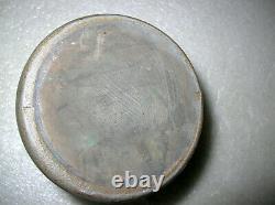Pennsylvania Stoneware Salt Glaze Stripe Wax Sealer Canner Jar Crock