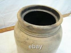 Philadelphia Pickling Co PA Stoneware 1 Gal Crock Pickle Jar