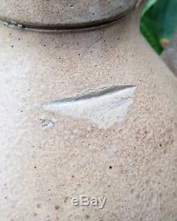 RARE Maxtun & Co Fort Edwards NY Stoneware Crock Jug Cobalt Decorated 1 Gallon