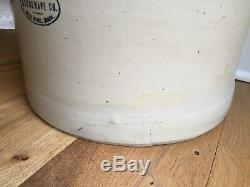 RARE Union Stoneware Elephant Ear 10 Gallon Crock Red Wing Minnesota