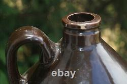 RARITY Antique 1920s Red Wing Pottery Stoneware Advertising Shoulder Jug Crock