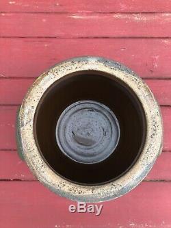 Rare 1874 Dated Decorated Indiana, PA Stoneware Crock