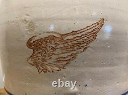 Rare Antique Red Wing Union Stoneware Co. 4 gallon water cooler