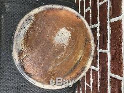 Rare Dated 1874 John Magee Indiana, Pa Cobalt Decorated Stoneware Crock