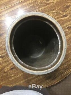 Rare Hamilton & Jones Cobalt Blue Stoneware Crock/Churn 4 Gallon Greensboro PA