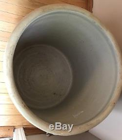 Rare Western Stoneware 25 Gallon Crock