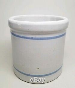 Red Wing Advertising Beater Jar Crock Stoneware HUEMOELLER BROS MINNESOTA