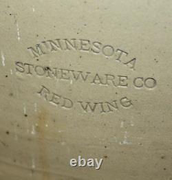 Red Wing Salt Glaze 20 Gallon Crock Butterfly Design Side Stamp Minnesota St