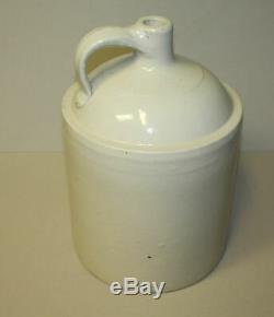 Red Wing Stoneware 5 gallon Shoulder jug with Waconda Spring, Kansas advertising