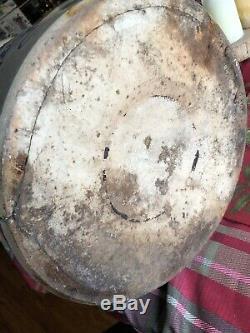 STUNNING Antique Primitive Salt Glazed Stoneware Ft. Edwards Big Bird Crock
