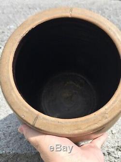Salt Glaze AP Donaghho Parkersburg WV COBALT crock
