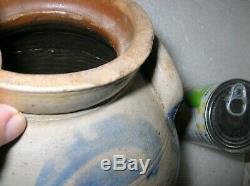 Smith And Day Norwalk Conn Two Sided Stoneware Salt Glaze Crock